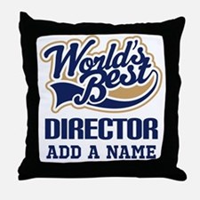 Best Director personalized Throw Pillow