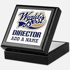 Best Director personalized Keepsake Box