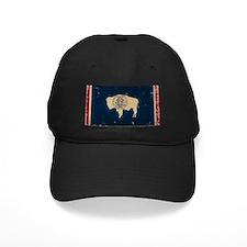 Wyoming Flag VINTAGE Baseball Hat