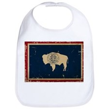 Wyoming Flag VINTAGE Bib