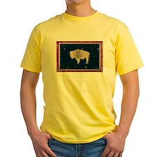 Wyoming Flag VINTAGE T-Shirt