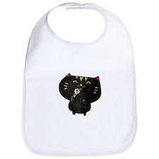 Black Sushi Cat Bib