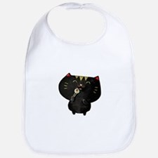 Black Sushi Cat Bib