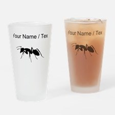 Custom Carpenter Ant Drinking Glass