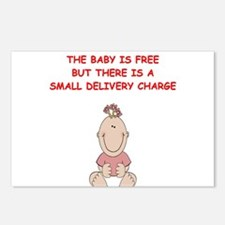 OBGYN Postcards (Package of 8)