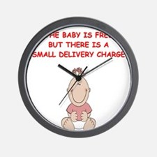 OBGYN Wall Clock