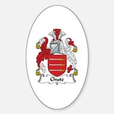 Chute Oval Decal