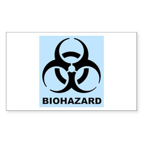 Boy's Biohazard Sticker