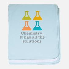 Chemistry Solutions baby blanket