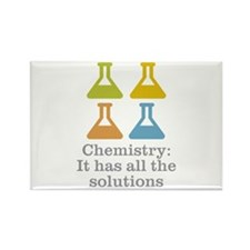 Chemistry Solutions Rectangle Magnet