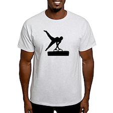 Gymnast pommel horse T-Shirt