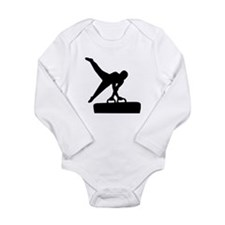 Gymnast pommel horse Long Sleeve Infant Bodysuit