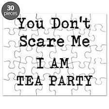 You Dont Scare Me I Am Tea Party Puzzle