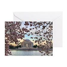Jefferson Memorial Greeting Card