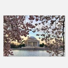 Jefferson Memorial Postcards (Package of 8)