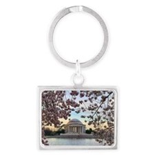 Jefferson Memorial Landscape Keychain
