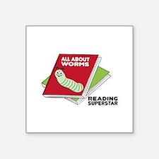 Reading Superstar Sticker