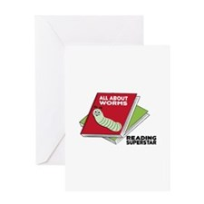 Reading Superstar Greeting Cards