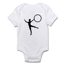Gymnastics gymnast Infant Bodysuit