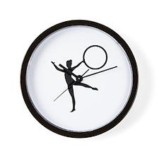 Gymnastics gymnast Wall Clock
