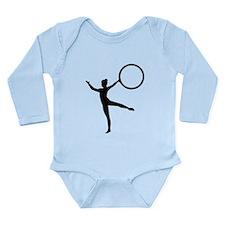 Gymnastics gymnast Long Sleeve Infant Bodysuit
