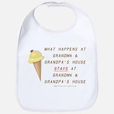 Grandma & Grandpa's Bib