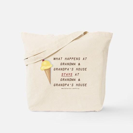 Grandma & Grandpa's Tote Bag