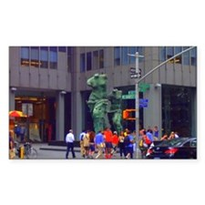 Street Corner Statue  Decal