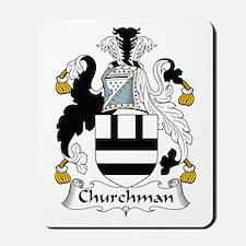 Churchman Mousepad