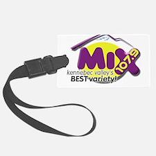 107.9 The Mix Logo Luggage Tag