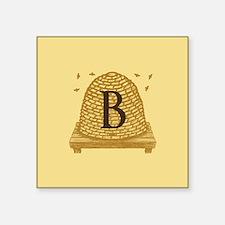 MONOGRAM Bee Hive Sticker