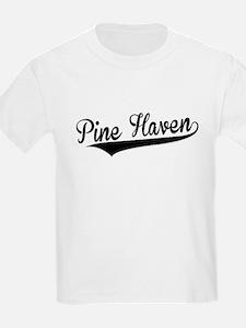 Pine Haven, Retro, T-Shirt