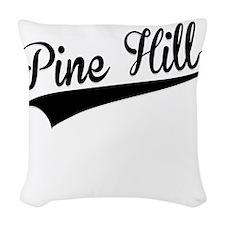 Pine Hill, Retro, Woven Throw Pillow