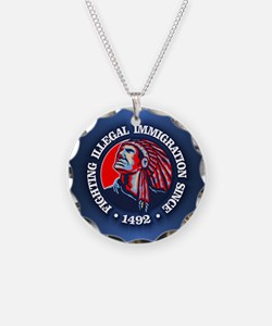 Native American (Illegal Immigration) Necklace