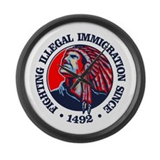 Native American (Illegal Immigration) Large Wall C