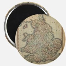 1808 Map of England and wales Magnets