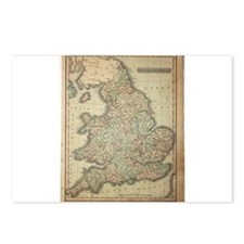 1808 Map of England and wales Postcards (Package o