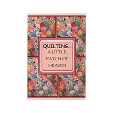 Vintage Quilt Rectangle Magnet (10 pack)