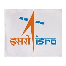 ISRO - India in Space Throw Blanket