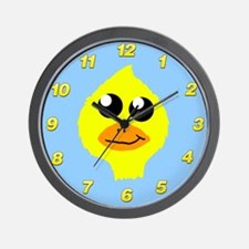 Yellow Duck Wall Clock