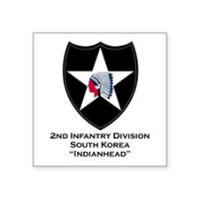 2nd Infantry Indianhead Sticker