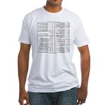 Emacs Reference T-shirt (Fitted)