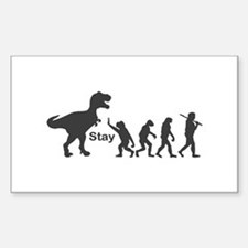 T Rex Stay Decal