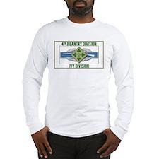 4th ID Ivy Division CIB Long Sleeve T-Shirt