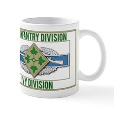 4th ID Ivy Division CIB Mug