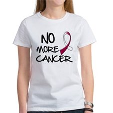 No More Throat Cancer T-Shirt
