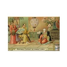 The Rat Sisters ~ A Japanese Tale Rectangle Magnet