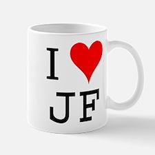 I Love JF Mug