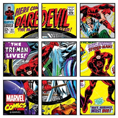 Daredevil Boxes Wall Art Poster