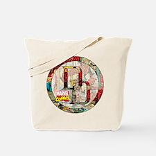 Daredevil Collage Tote Bag